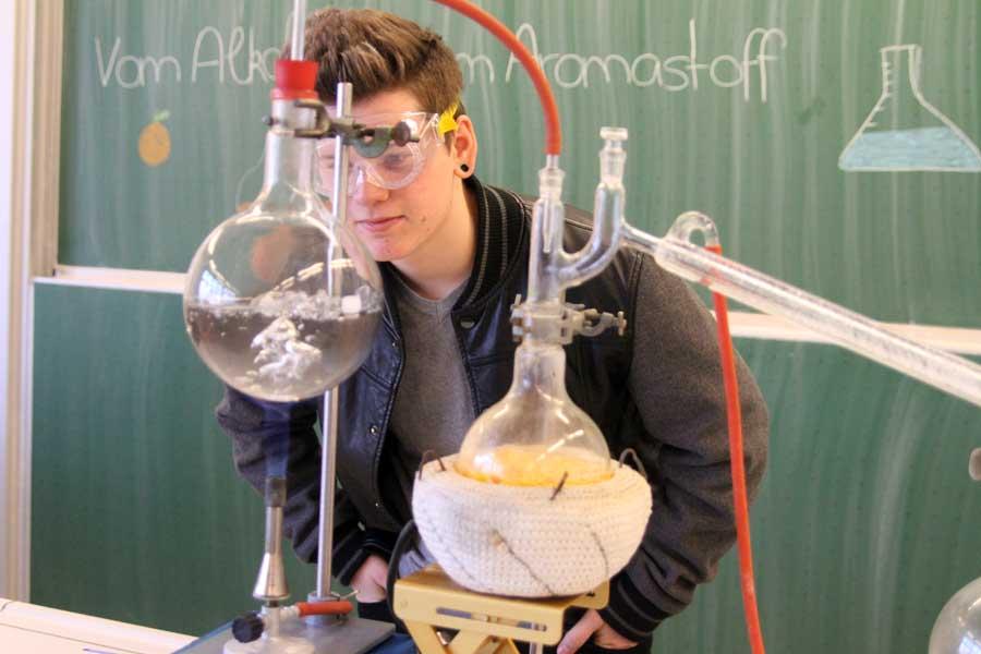 Eine Analyse im Chemieunterricht
