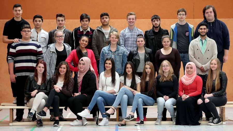 Gesamtschule Scharnhorst   10. Jahrgang     Abschlussklassen        19.05.2015 Klasse 101 Foto: Peter Ludewig