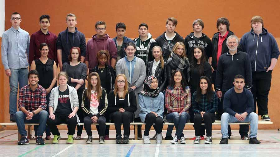 Gesamtschule Scharnhorst   10. Jahrgang     Abschlussklassen        19.05.2015 Klasse 102 Foto: Peter Ludewig