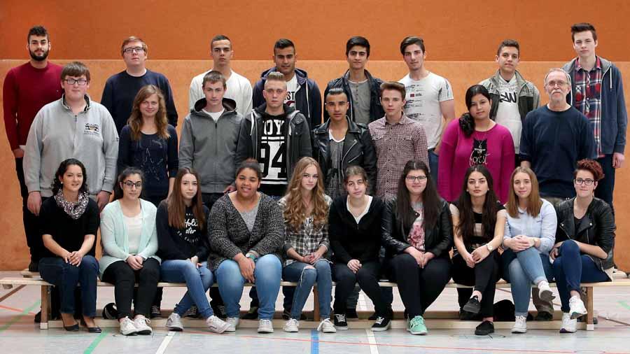 Gesamtschule Scharnhorst   10. Jahrgang     Abschlussklassen        19.05.2015 Klasse 104 Foto: Peter Ludewig
