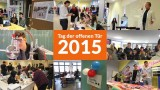 Gute Stimmung beim Tag der offenen Tür 2015