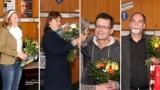 Vier Kollegen werden verabschiedet