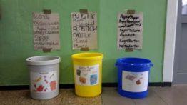 Recycling-Projekt im 7. Jahrgang