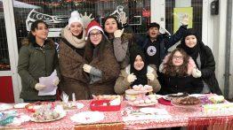 Gute Stimmung beim Nikolausmarkt