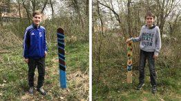 Kunstobjekte für den Schulgarten