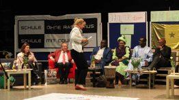 Die Gesamtschule empfängt den senegalesischen Botschafter