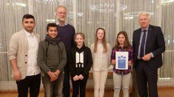 Bürgermeister Sierau dankt für engagierten Umweltschutz