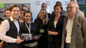 Bildungsministerin nimmt sich Zeit für die Gesamtschule Scharnhorst