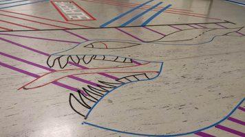 """""""Tape Art""""-Projekt mit der DASA Dortmund"""