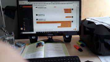 """Distanzlernen mit dem """"Digitalen Stundenplan"""""""