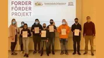 Forder-Förder-Projekt: Starke Leistung trotz Corona